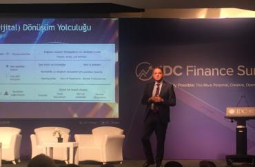 IDC Finance Summit Etkinliğinde Finans Sektörünün Dijital Dönüşümünü Konuştuk!