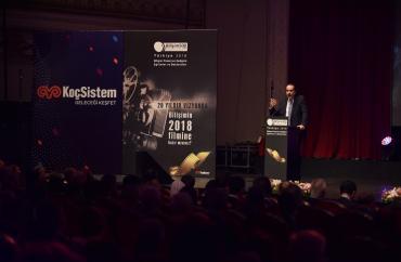 Bilişim 500'de Teknoloji Sistem Entegratörleri Ödülleri Dağıtıldı: PAZAR LİDERİ KOÇSİSTEM!