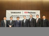 KoçSistem ve Samsung'tan bölgesel stratejik iş ortaklığı imzası!