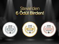 Stevie'den KoçSistem'e 6 ödül birden!